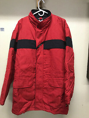 Workrite FRC Heavy Parka Nomex Jacket Red Flame Resistant 2XL
