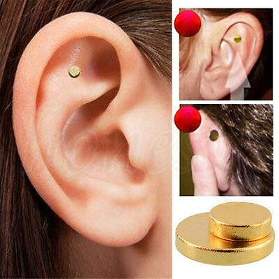 Quit Smoking Stop Smoke Ear Auricular Magnet Therapy Acupressure Healthy Care