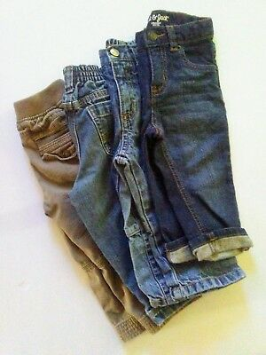 Lot of 4 Toddler 18-24 Month Jeans Pants