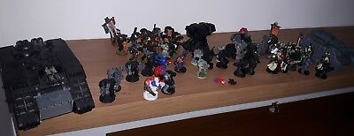 warhammer 40k space marines lot + army