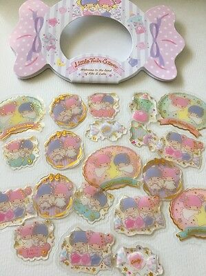Stickers Christmas Stocking Fillers Little Twin Stars Epoxy  Craft Envelope Seal