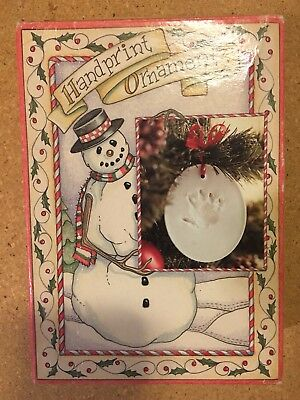 NIB Handprint Ornament