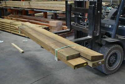 TREATED PINE SLEEPERS 200x50 - assorted lengths -  4 pieces SECONDS - 6107