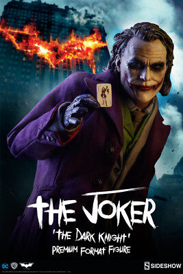The Joker: The Dark Knight Premium Format Figure by Sideshow Collectibles