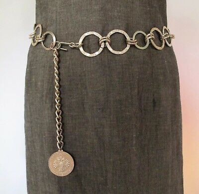 BELT Gold CHAIN Genuine 1960's VINTAGE Mod GoGo Retro