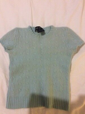Girls Ralph Lauren Cashmere Sweater Size Small (approx Child's Size 4)