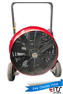 "Portable Blower Fan Industrial Petrol Tempest 21"" Ventilator Positive Pressure A"