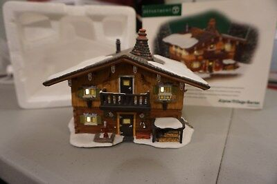Dept 56 Jagerhutte Hunting Cabin Alpine Village Series Christmas #56231