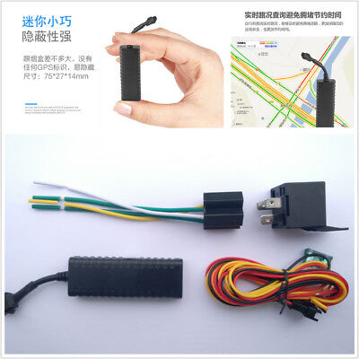 Universal Car Motorcycle GPS Tracking Device With Main Power Off Alarm Function