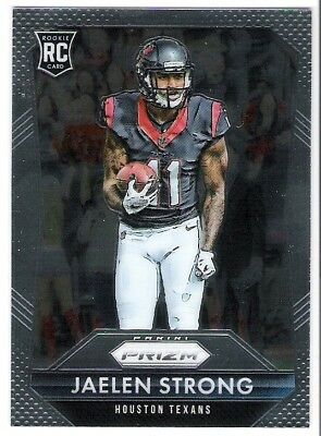 Jaelen Strong 2015 Panini Prizm Rc Rookie Card #241