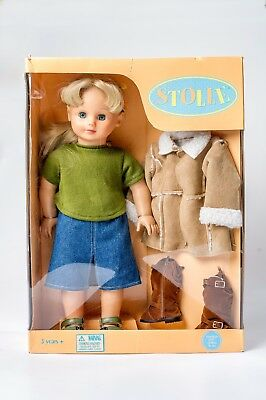 """NEW! 18"""" GOETZ Stolle Doll - American Girl Body Type - Made  1 Year Only GOTZ"""