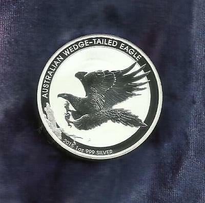1 Oz Silver Coin 999 - Wedge-Tail Eagle 2015 - Look At Sale