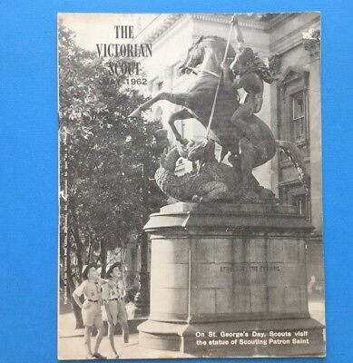 THE VICTORIAN SCOUT May 1962 Rare B/W Australian Magazine - St George's Day