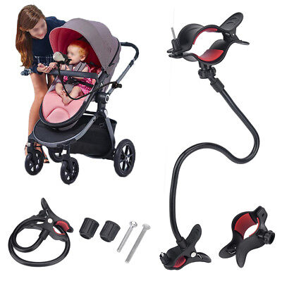 200ML Adjustable Handfree Water Milk Bottle Clip Holder For Baby Strollers Bed