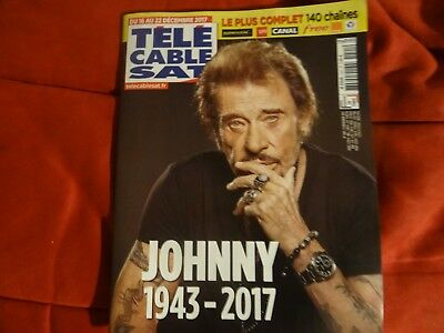 Johnny Hallyday 1943 2017 Magazine Tele Cable Sat Numero Special