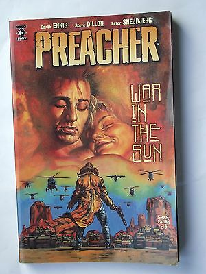 Preacher: War in the Sun by Garth Ennis (P/B 1999) Good Condition Titan Books