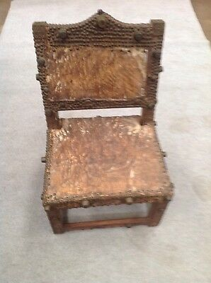 "vintage hand made chair from the tansania ""area africa"