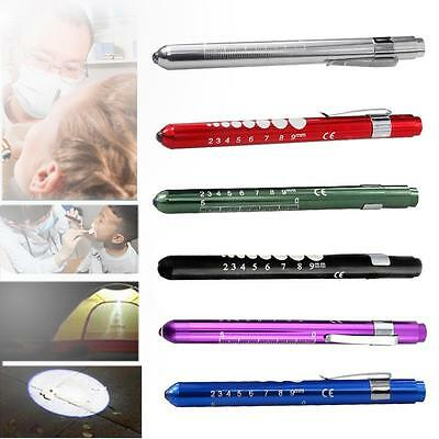 Medical First Aid Flashlight LED Pen Light Torch Doctor Nurse Emergency sd