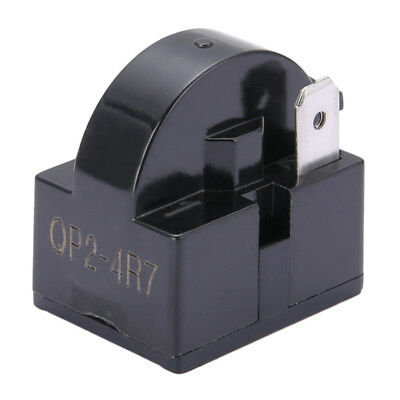 QP2-4.7 Replacement Start Relay Refrigerator PTC for 4.7 Ohm 1 Pin Compressor
