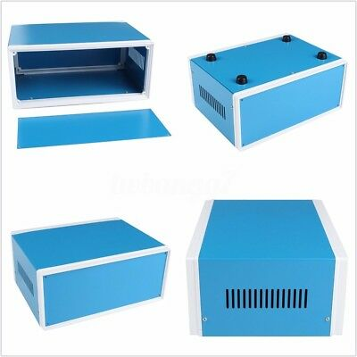 Electronic Project Enclosure Power Junction DIY Box Case Blue 250 x 190 x 110mm