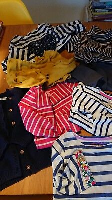 girls long sleeve tops boden joules next M&S.age 5-6 years
