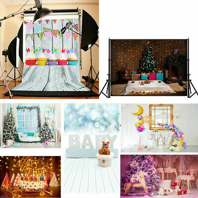 Kids Baby Birthday Party Photography Backdrop Celebration Photo Wall Background