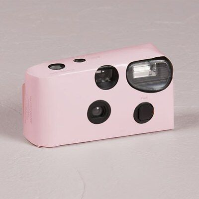 10 x Single Use Camera - Solid Pink Colour Design - Wedding/ Party/ Function