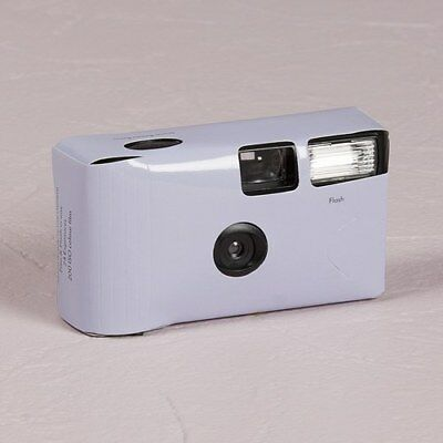 10 x Single Use Camera - Solid Lilac Colour Design - Wedding/ Party/ Function