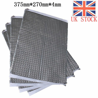 23 Sheets Extra Bulk Pack Sound Proofing Mat Car Van Deadening Vibrations 4mm UK