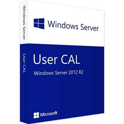 Windows Server 2012 R2 - 1 User CAL