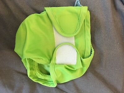 Little Lamb Wrap Size One in lime green