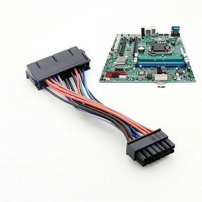 BEST COMPUTE 24 Pin to 14 Pin ATX PSU Main Power Adapter Cable ...