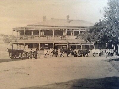 Old Photo Type Postcard..Commercial Hotel  Junee