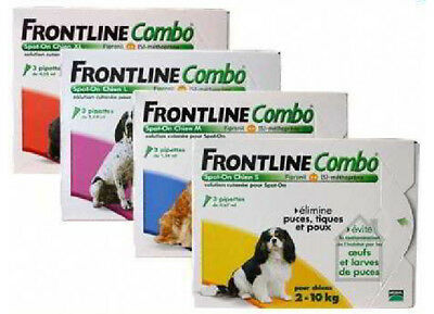 Frontline Spot On Combo dog and cat tick and flea treatment