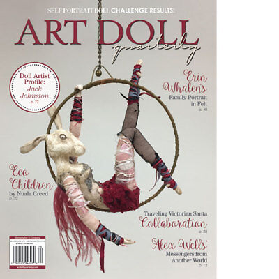 Art Doll Quarterly Magazine by Stampington Winter 2018