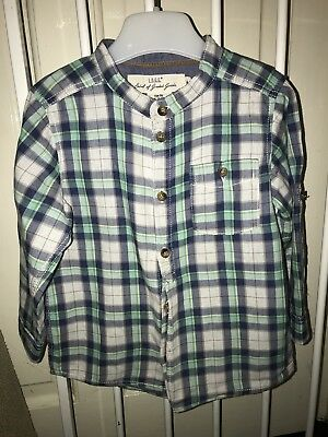 Boys Checked Shirt H&M (12-18 months)
