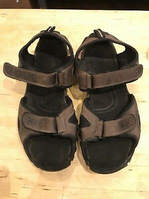Men's Timberland Sports Sandals Size 11 M Brown - hardly worn!
