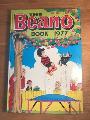 THE BEANO Christmas Annual 1977 Ideal 40th Gift