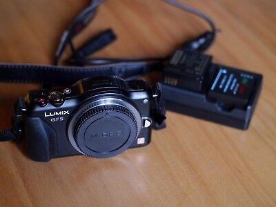 Panasonic lumix GF5 body only  (excellent condition -  7189 shutter count )