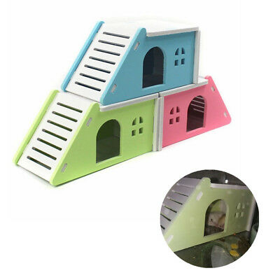 House Bed Cage Nest For Small Animal Pet Hamster Hedgehog Guinea Pig Castle Toy