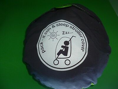 Koo-di Pack It Sun And Sleep Stroller Cover (used)