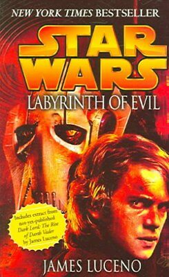 Star Wars: Labyrinth of Evil by James Luceno 9780099484288 (Paperback, 2005)