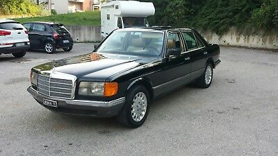 Mercedes Benz 280 SE 4 marce metano, asi, tettino w126