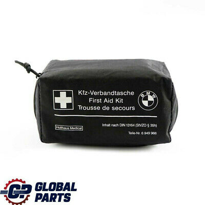 BMW Universal First Aid Emergency Medical Kit Pouch Black 6949966