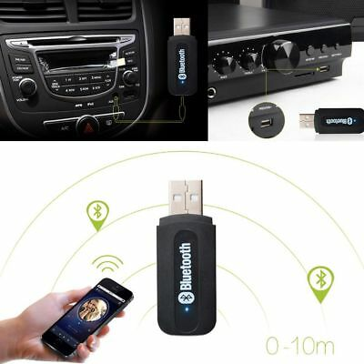 USB Bluetooth Music Stereo Receiver Audio Adapter for iPhone X Speaker Car Home