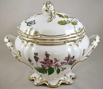 Stunning Spode China Stafford Flowers England Soup Tureen & Cover Y8519 1St