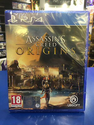 Assassin's Creed Origins PS4 NUOVO ITALIANO SIGILLATO