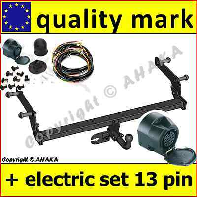 Witter towbar for dacia duster suv facelift 2014 2017 flange tow towbar electric 13pin dacia duster 102013 on swan neck tow bar publicscrutiny Gallery