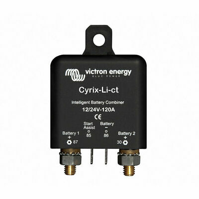 Victron Cyrix-Li-ct 12/24V-120A Combinateur Intelligent de Batterie Li-ion