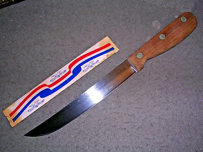 """Fine Vintage Case XX SC684-8"""" Carving Knife! The Early Americans Series! 9-Dot!"""